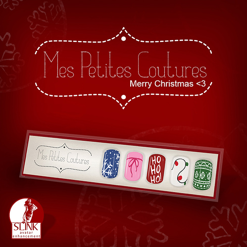 Mes Petites Coutures - Christmas Nail Swatch